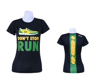 "T-shirt, BONK ""Don't stop run"" TECH, herr"
