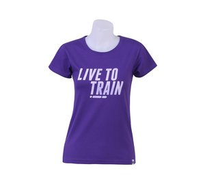 T-shirt, BONK LIVE TO TRAIN, dam